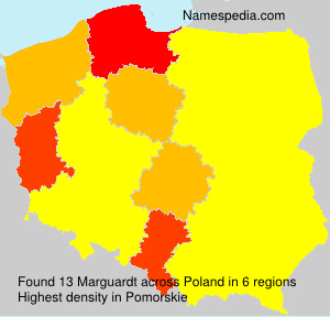Surname Marguardt in Poland