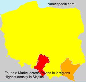 Surname Markel in Poland