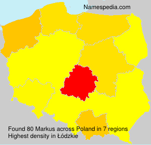 Surname Markus in Poland