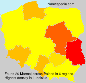Surname Marmaj in Poland