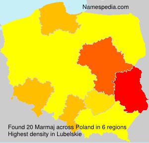 Surname Marmaj in Poland