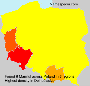 Surname Marmul in Poland