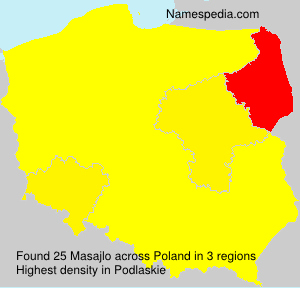 Surname Masajlo in Poland