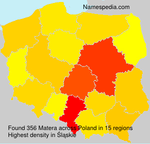 Surname Matera in Poland
