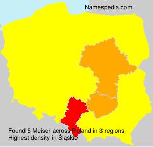Surname Meiser in Poland