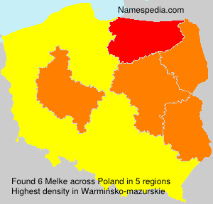 Surname Melke in Poland