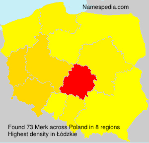 Surname Merk in Poland