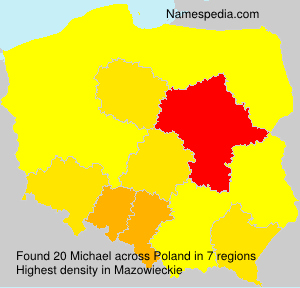 Surname Michael in Poland