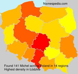 Surname Michel in Poland
