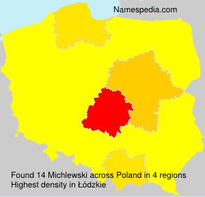 Surname Michlewski in Poland