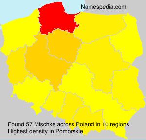 Surname Mischke in Poland