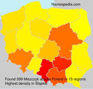 Surname Miszczyk in Poland