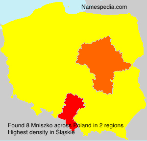 Surname Mniszko in Poland