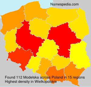 Familiennamen Modelska - Poland