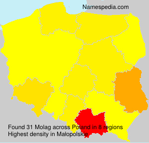 Surname Molag in Poland