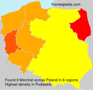 Surname Morchat in Poland