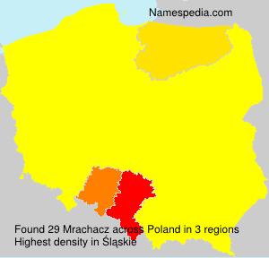 Surname Mrachacz in Poland