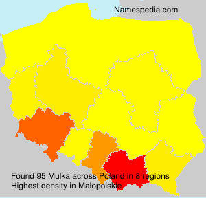 Surname Mulka in Poland