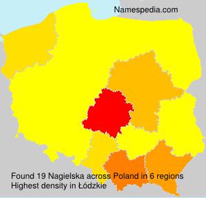 Familiennamen Nagielska - Poland