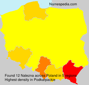 Surname Nalezna in Poland