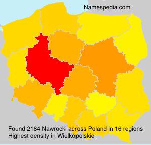 Surname Nawrocki in Poland