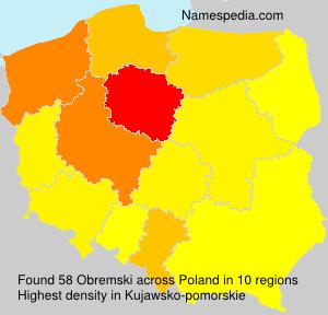 Familiennamen Obremski - Poland