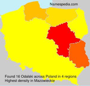 Surname Odalski in Poland