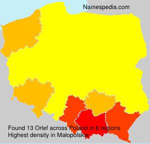Surname Orlef in Poland