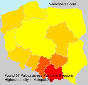 Surname Palosz in Poland