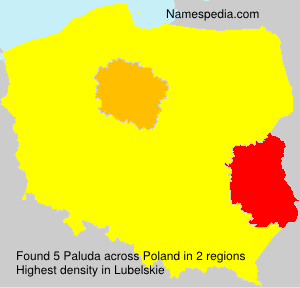 Surname Paluda in Poland