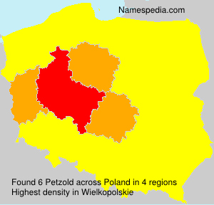 Surname Petzold in Poland