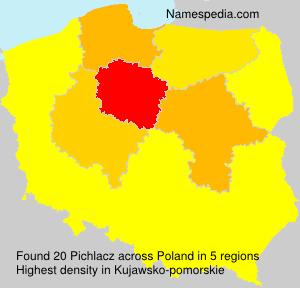Surname Pichlacz in Poland