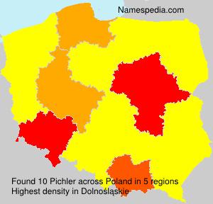 Surname Pichler in Poland