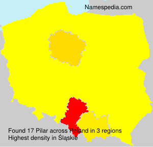 Surname Pilar in Poland