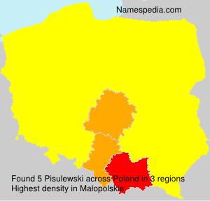 Surname Pisulewski in Poland