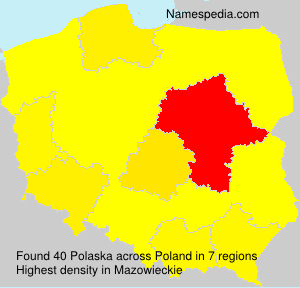 Familiennamen Polaska - Poland