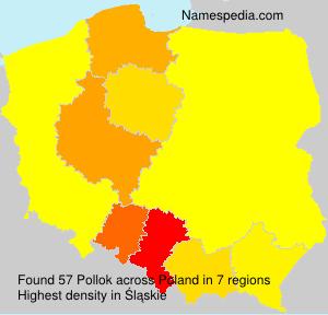 Surname Pollok in Poland
