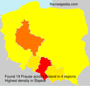 Surname Prause in Poland
