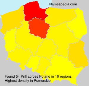 Surname Prill in Poland