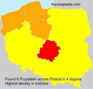 Familiennamen Przydalski - Poland