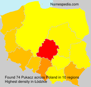 Surname Pukacz in Poland