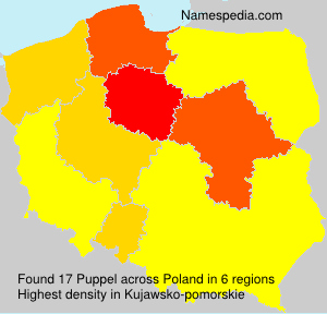Surname Puppel in Poland