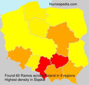 Familiennamen Ramos - Poland