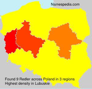 Surname Redler in Poland