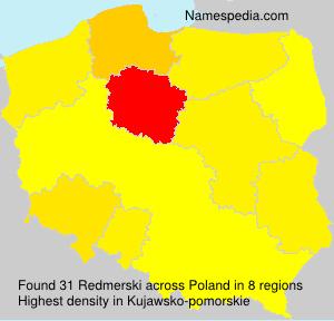 Surname Redmerski in Poland