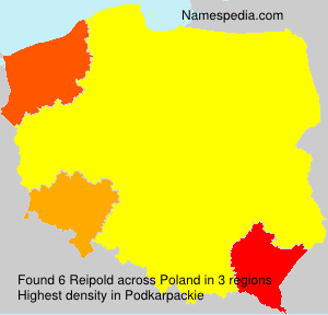 Surname Reipold in Poland