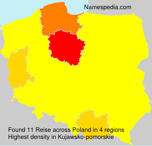Surname Reise in Poland