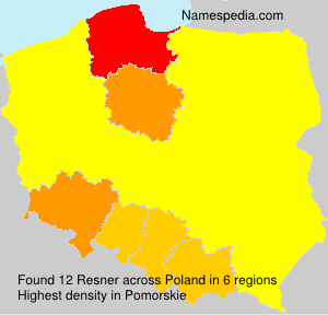 Surname Resner in Poland