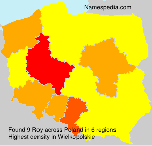 Surname Roy in Poland