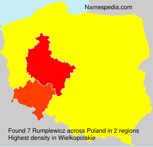 Surname Rumplewicz in Poland